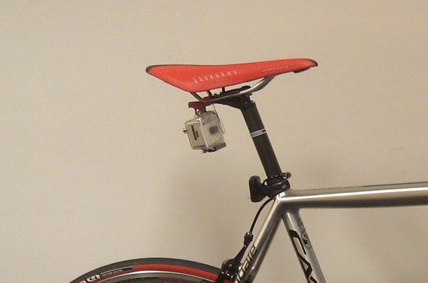 GoPro mounted with k-edge mount