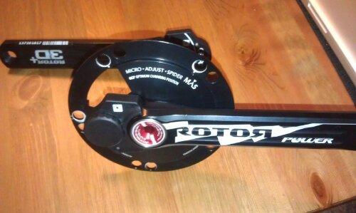 Rotor Cranks assembled